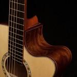 Chechen Small Jumbo Guitar