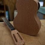 Custom Concert Ukulele Construction, lacewood