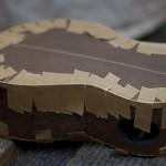 Handmade Concert Ukulele Construction, wenge
