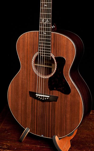 Randall Bramblett Small Jumbo Custom Guitar