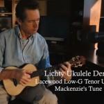 Lacewood Ukulele Demo - Mackenzie's Tune