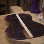 Custom Ukulele Construction, Cocobolo T44