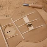 Custom Ukulele Construction, Granadillo Tenor Ukulele