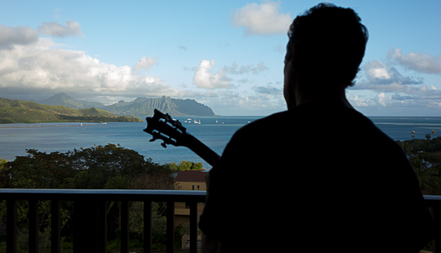 Lichty Guitars in Hawaii