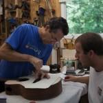 Guitar Building Workshop July 2013 Final Days