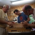 Guitar Building Workshop June 2013 Day 4