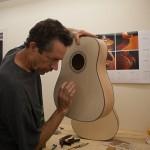 Guitar Building Workshop June 2013 Day 5