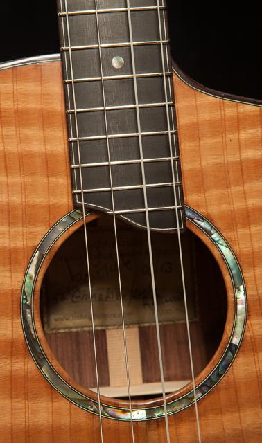 Custom Granadillo Baritone Ukulele, U52