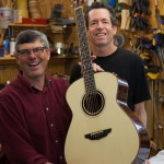 Guitar Building Workshop student Mike Johnson