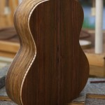 Long Neck Tenor Ukulele Construction, Asian Rosewood U54