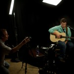 Noah Guthrie video shoot with Erik Olsen