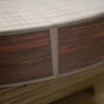 Asian Rosewood Long Neck Tenor Ukulele Construction U55