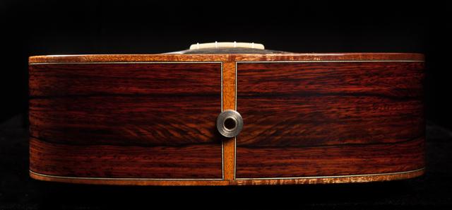 Custom Ukulele, Cocobolo Baritone Ukulele U58