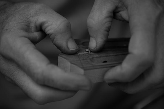 Pau ferro tenor ukulele construction, U59