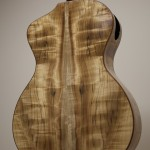 Custom Myrtlewood Baritone Ukulele Construction, u62