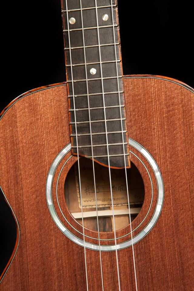 Custom Brazilian Rosewood Long Neck Tenor Ukulele, U65