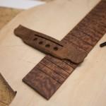 Custom Koa Steel String Baritone Ukulele