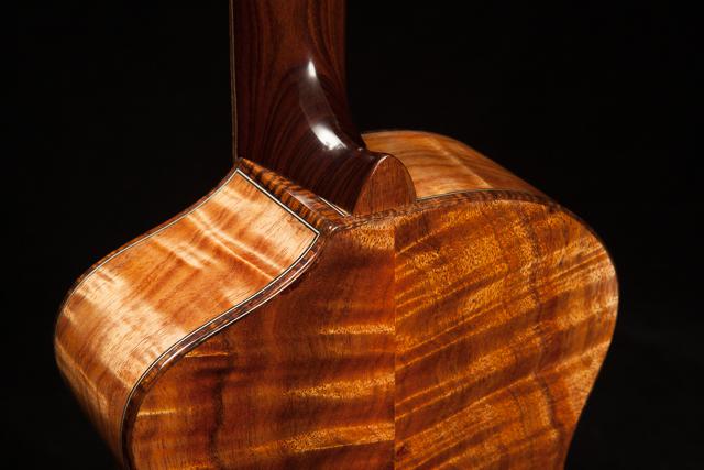 Custom Steel String Baritone Ukulele, U66