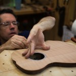 Custom Baritone Ukulele Construction - Granadillo U75