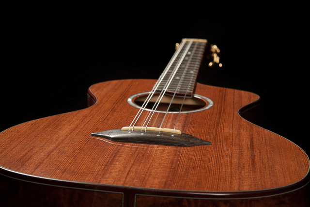 Custom Six String Baritone Ukulele U70 Lichty Guitars