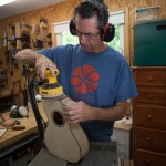 Steel String Ukulele Construction, U76 Myrtlewood