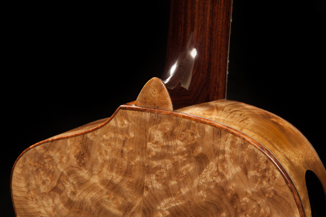 Steel String Ukulele, Myrtlewood Baritone Uke U77, Lichty-12
