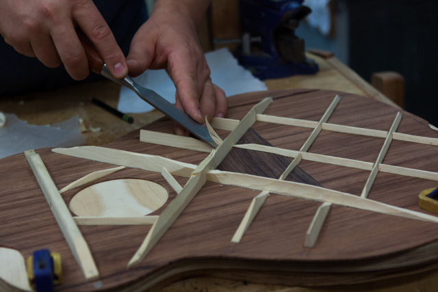 Guitar Building Workshop, July 2014 Days 2-3-
