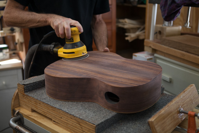 Custom Crossover Guitar Construction, G81 page 2