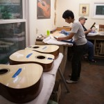 Guitar Building Workshop Aug 2014 - Days 5-10-