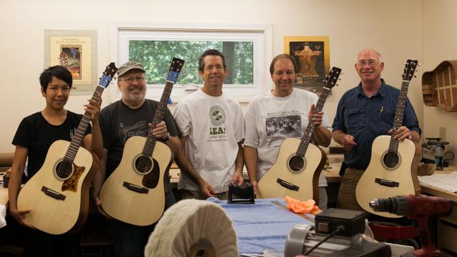 Guitar Building Workshop Aug 2014 Finale