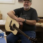 Guitar Building Workshop Aug 2014 Student Ken Brown