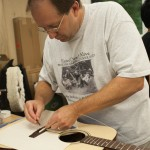 Guitar Building Workshop Student Steve Collie