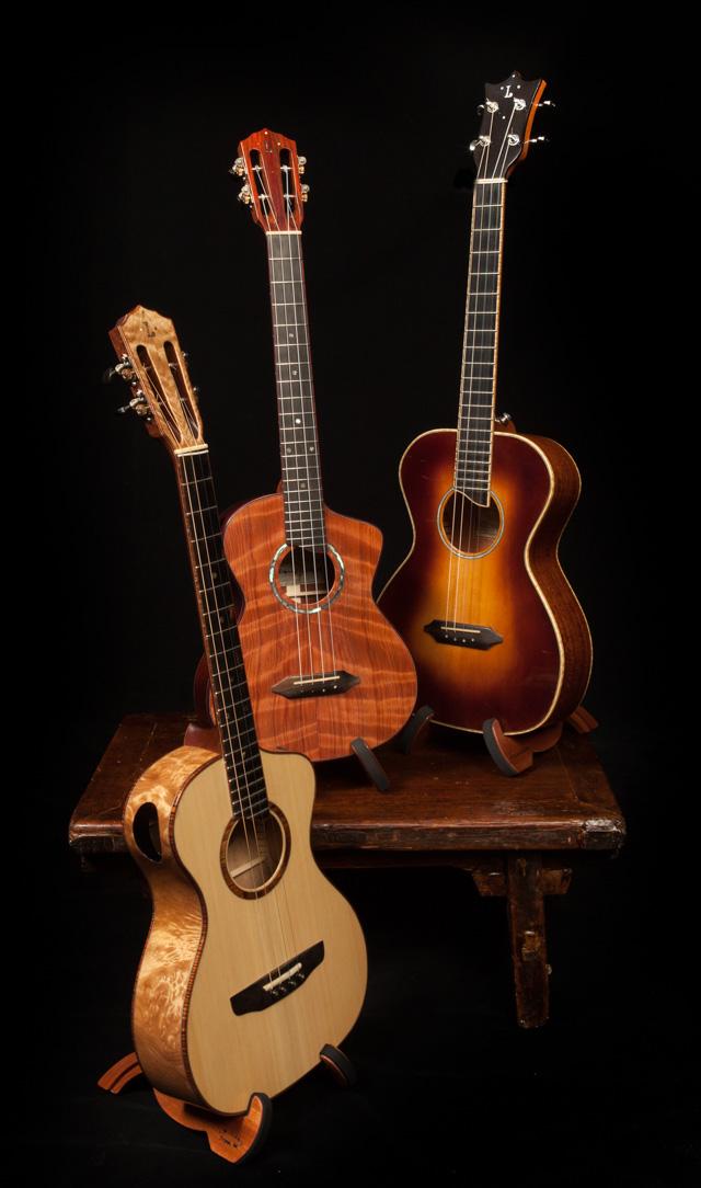 Asian Rosewood Long Neck Tenor Ukulele U82 Lichty Guitars