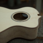 Custom Baritone Ukulele Construction, U83
