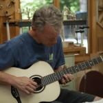 Guitar Building Workshop, Day 10, July 2015