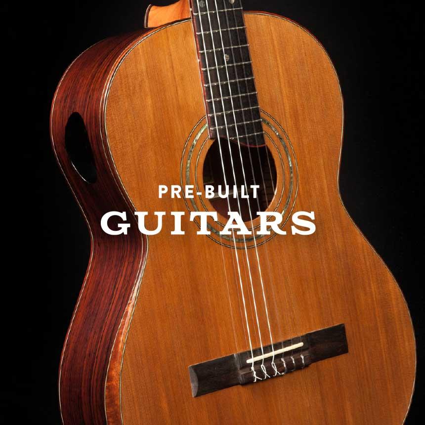 Pre-built Guitars
