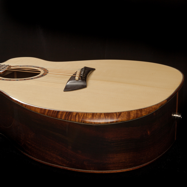 Beveled Armrest - Guitar and Ukulele Option