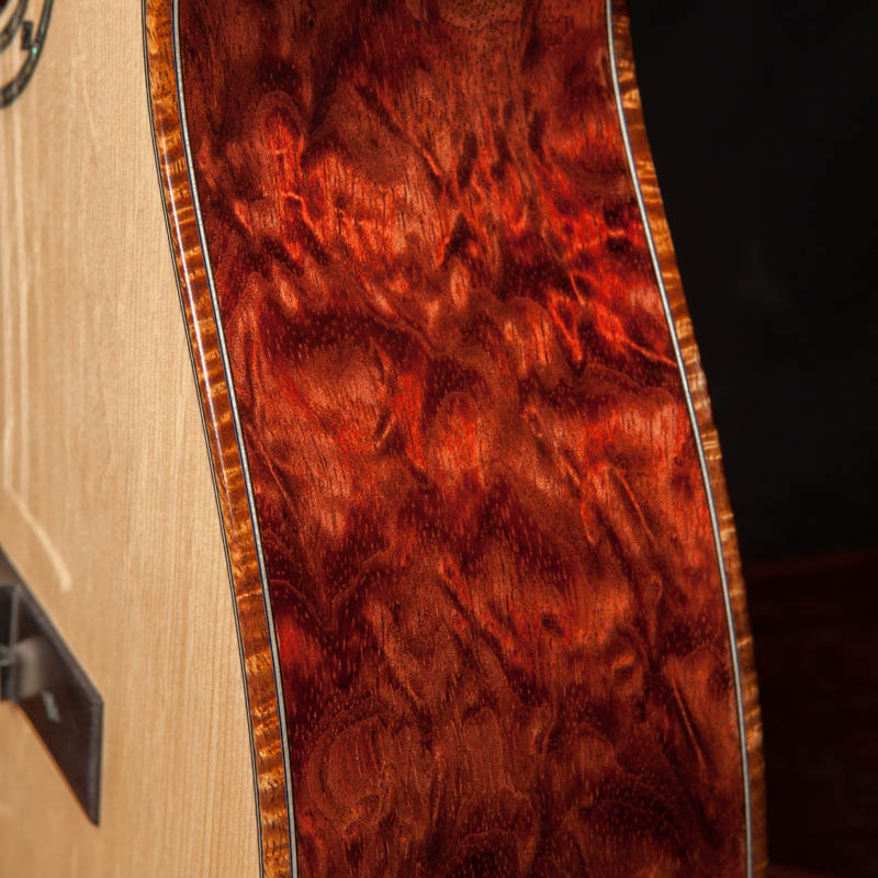 Bubinga Single O Custom Guitar