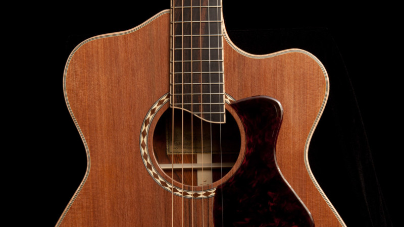 Custom Acoustic Guitar Review, G61
