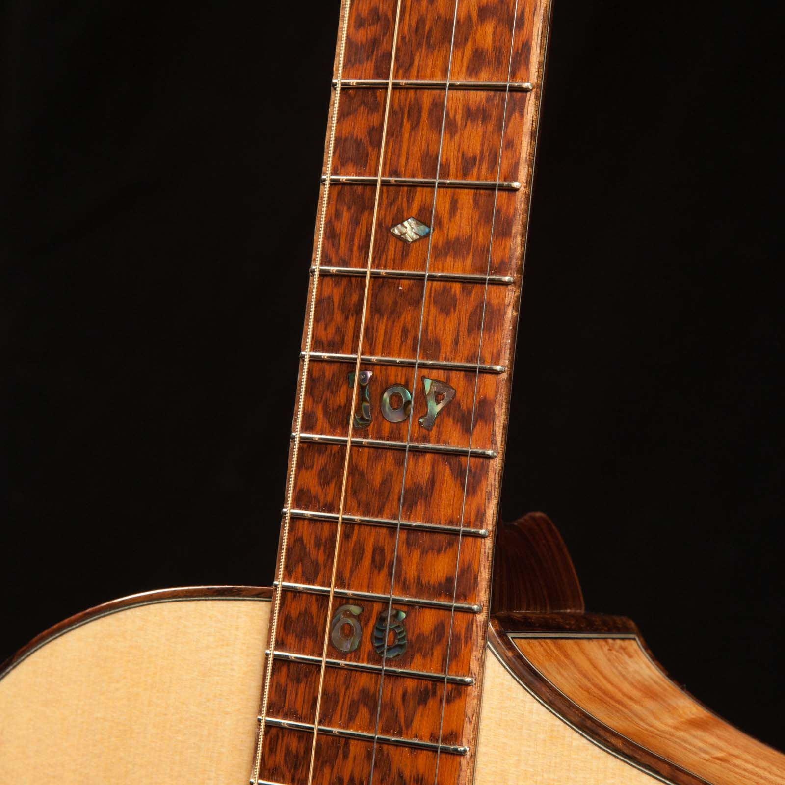 Custom Guitar Fretboard Options