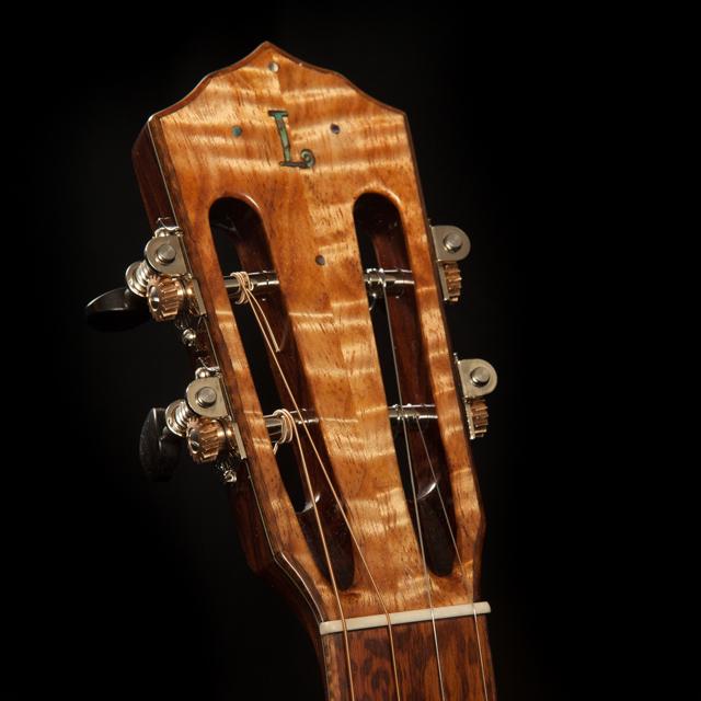 Custom Ukulele Headstock