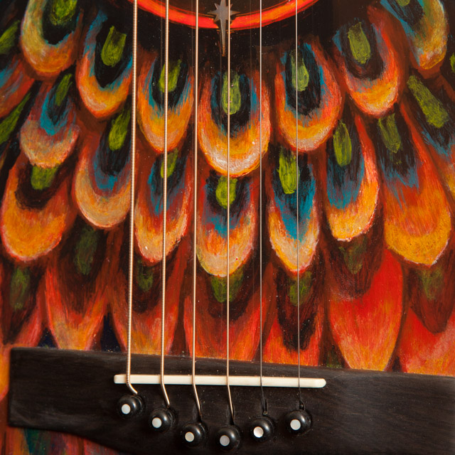 Custom Painted Ukuleles