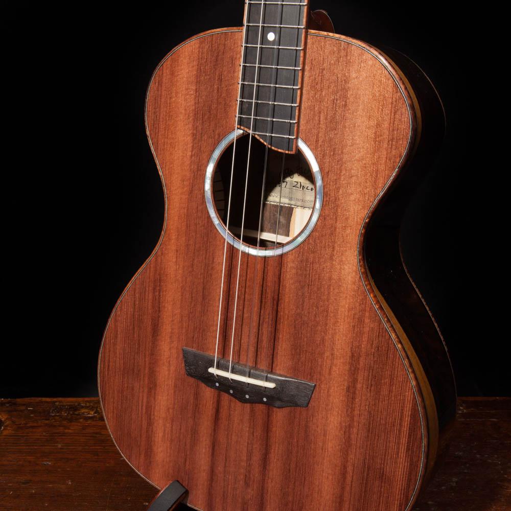 Custom Ziricote Baritone with Sinker Redwood top