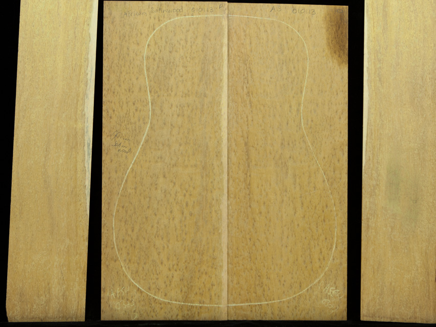 Satinwood Guitar Tonewood