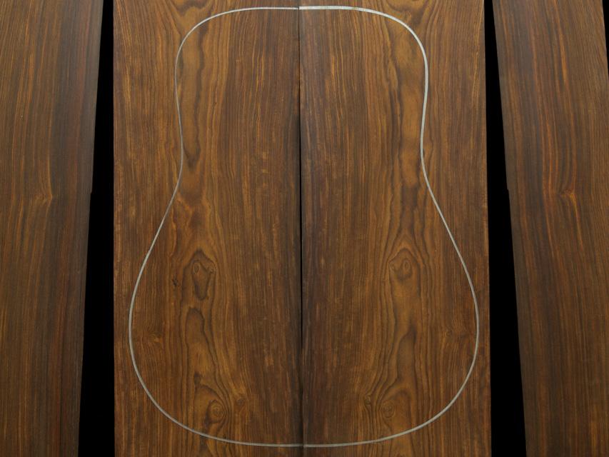 Cocobolo Guitar Tonewood Gallery