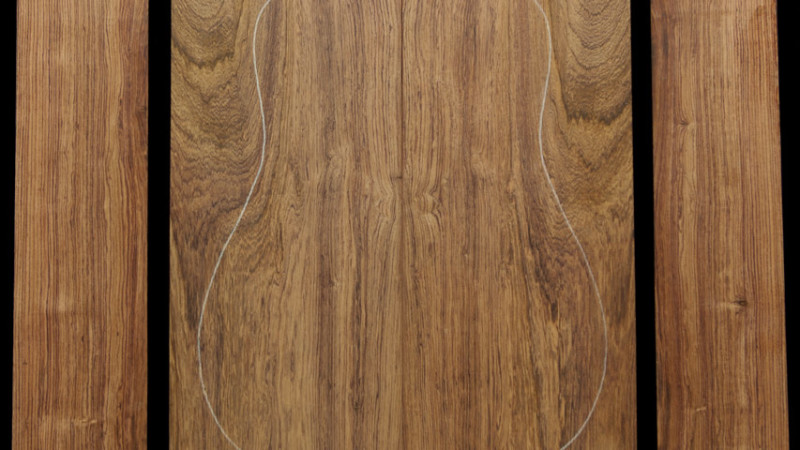 Honduran Rosewood Guitar Tonewood