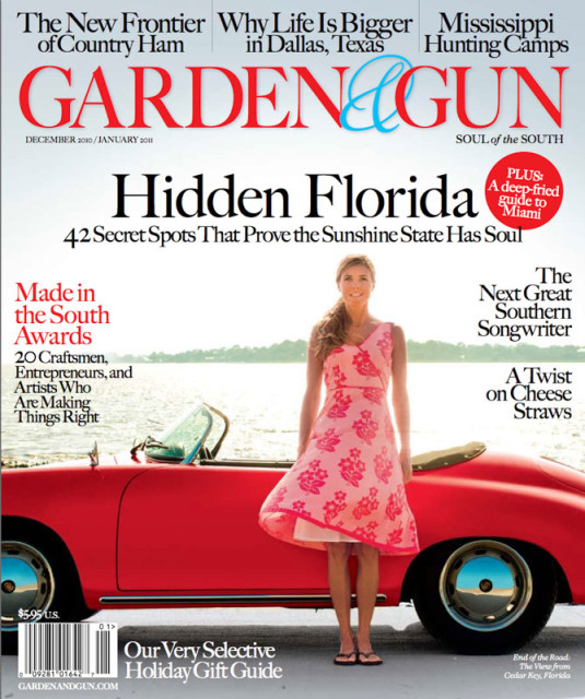Garden and Gun 2010 Made in the South Awards
