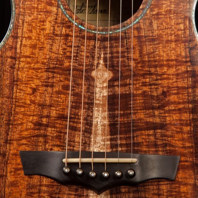 Ukulele Building Student Koa Guitar, John Thomas