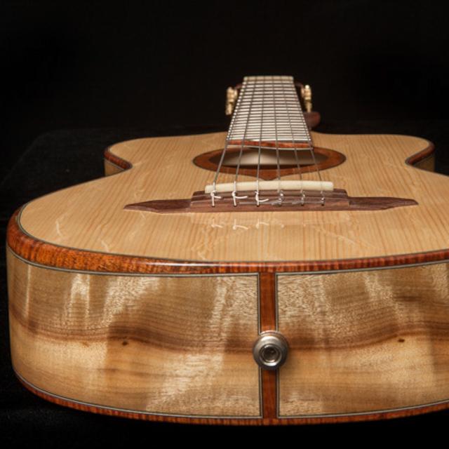 Lichty Custom 6 String Baby Bard