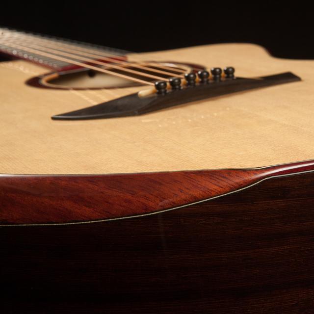 Lichty Custom Small Jumbo Guitar
